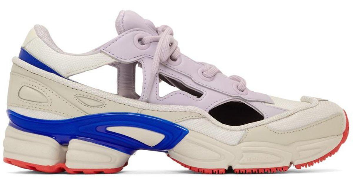 275d57cdd1f Lyst - Raf Simons Replicant Ozweego Sneaker in White for Men