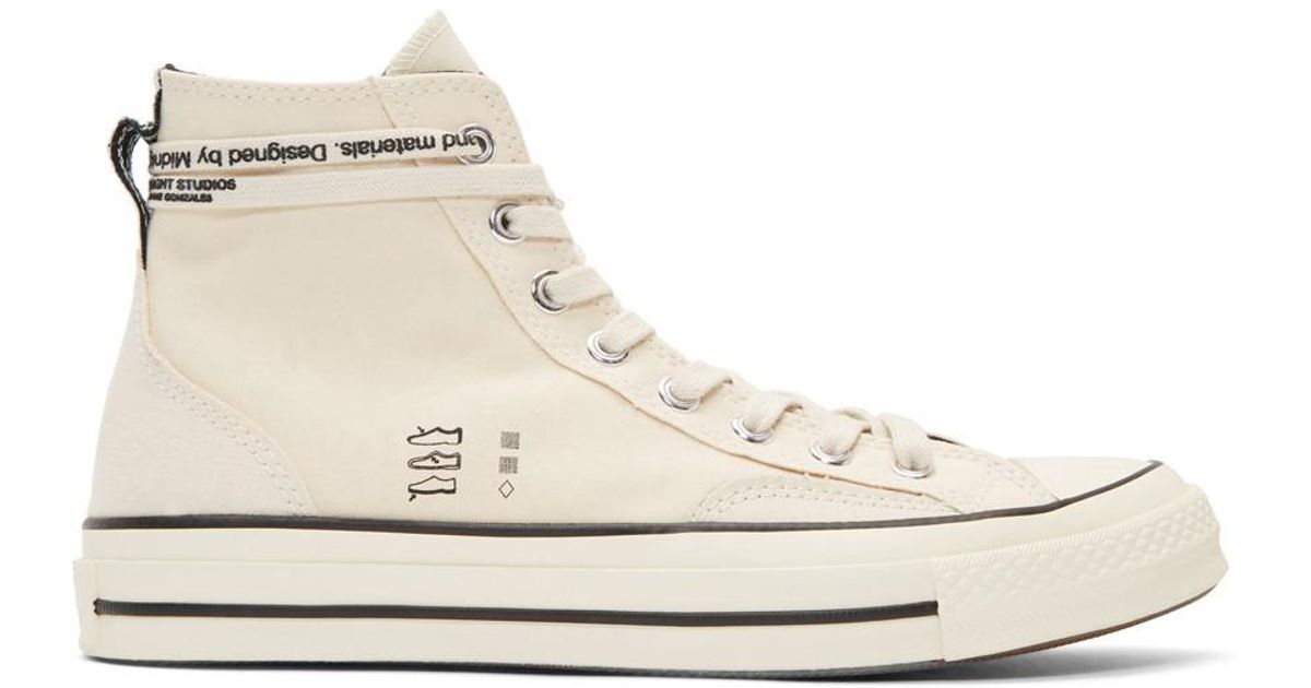 c7fe95c75432b9 Lyst - Converse Off-white Midnight Studios Edition Chuck Taylor 70 High-top  Sneakers in White for Men