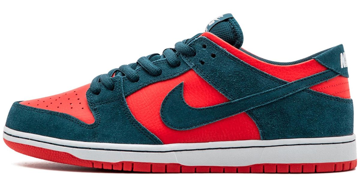 pretty nice 61b2f 11999 Lyst - Nike Sb Zoom Dunk Low Pro in Red for Men