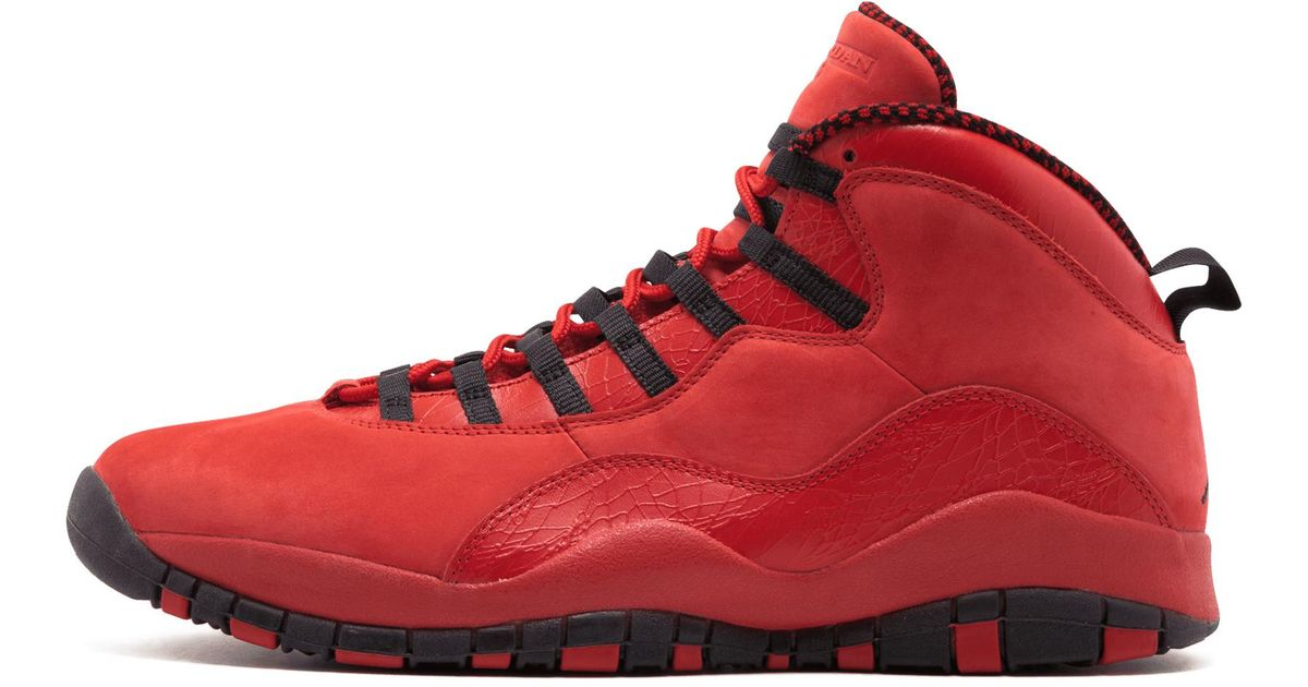 new style 32ad4 22451 Lyst - Nike Air 10 Retro Hoh in Red for Men