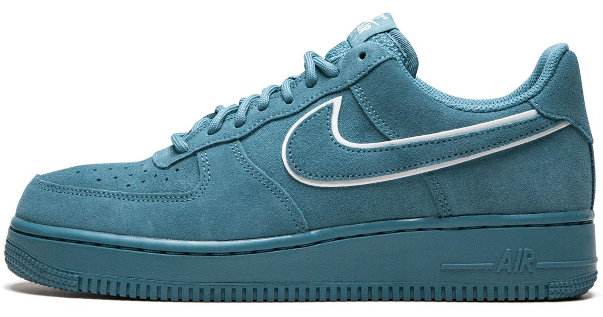 Men 1 Lv8 Force Lyst Air '07 Nike Suede Blue For 8nOm0vNw
