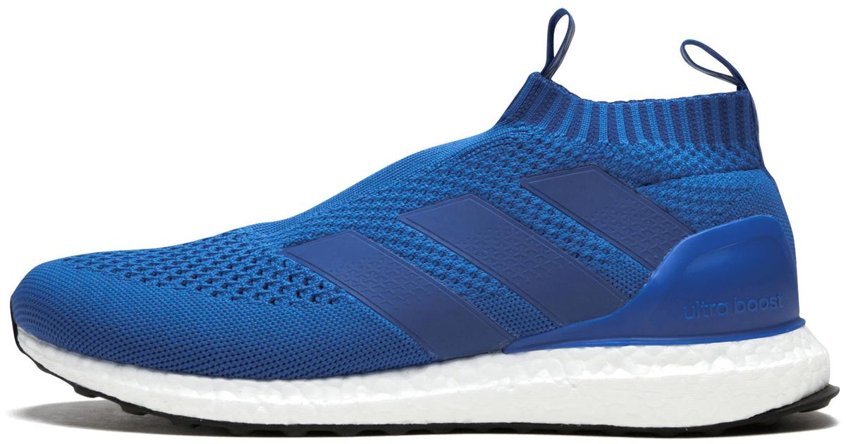 reputable site 7872f d0549 Lyst - adidas Ace 16+ Purecontrol Ultrab in Blue for Men - S
