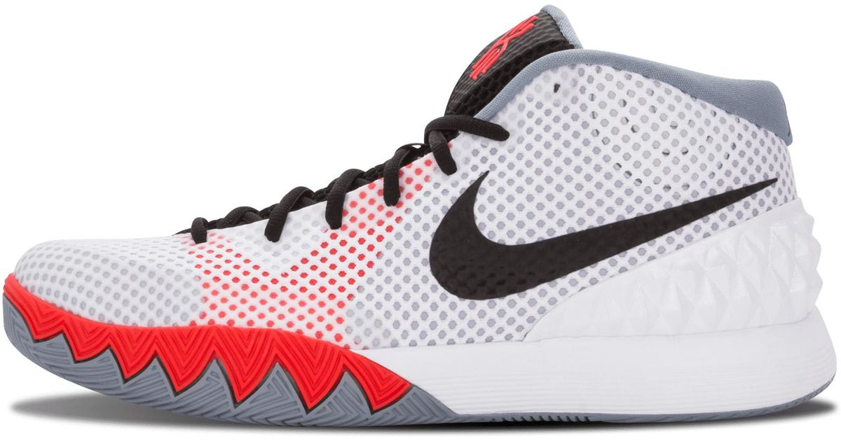 877b178e27e1 Lyst - Nike Kyrie 1 in White for Men - Save 20%