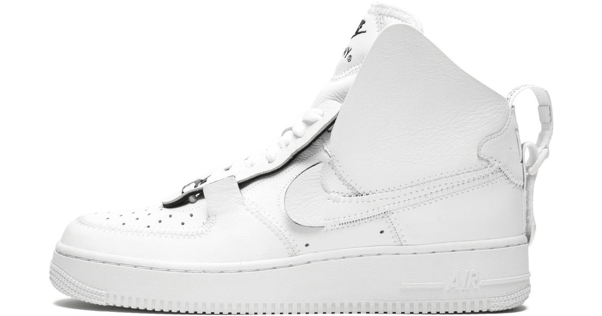 save off e6c3b 81b9b Nike Air Force 1 High Psny in White - Save 51.63297045101088