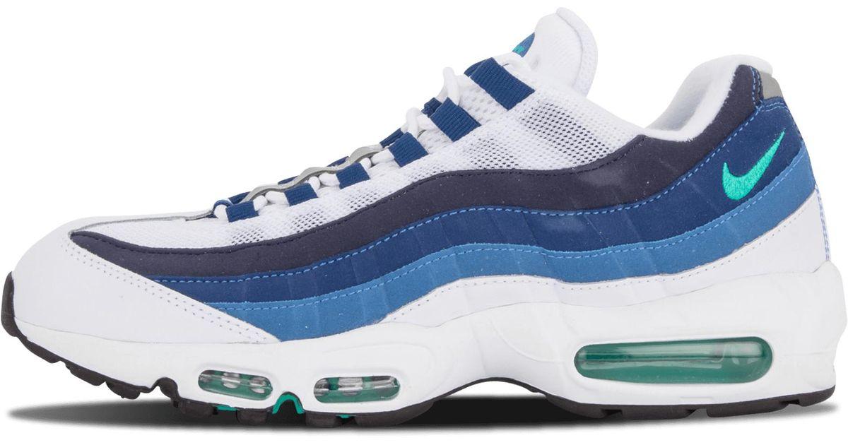 99e3dd8ba8 ... Lyst - Nike Air Max 95 Og in Blue for Men ...
