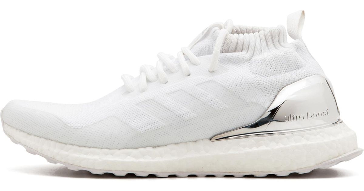 c79198b66e959 Lyst - adidas Ultra Boost Mid Kith in White for Men