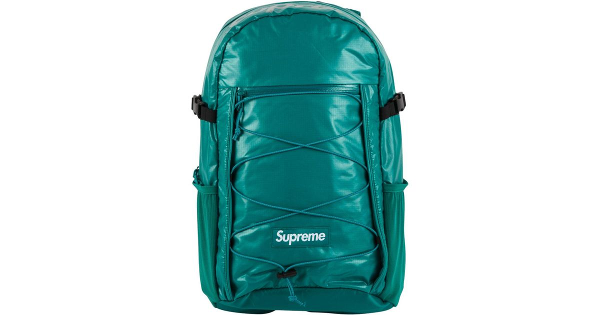 Supreme Backpack in Green for Men - Lyst cab1c9f7833b9