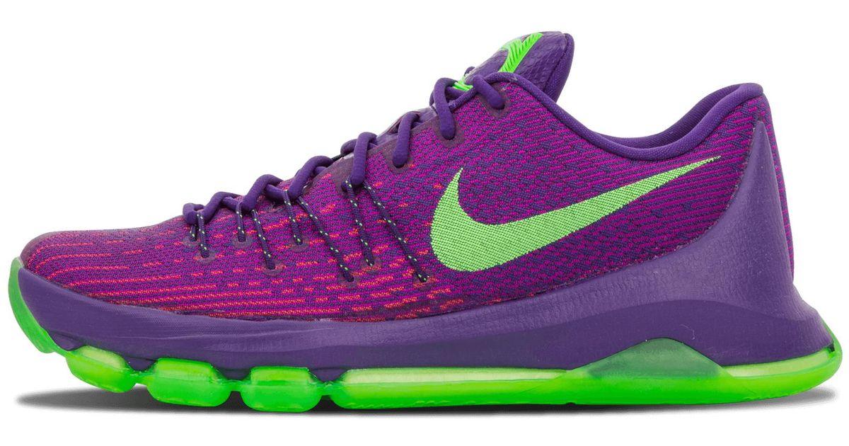 f2cc9e1b9eb3 Lyst - Nike Kd 8 in Purple - Save 16%