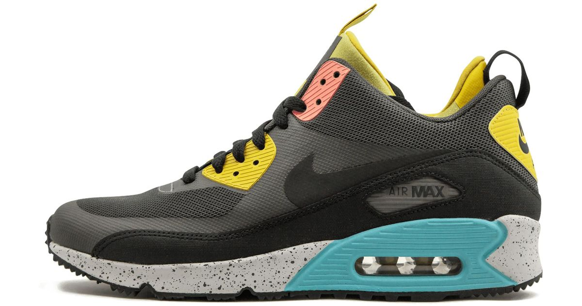 the best attitude c99f4 ea88b ... shopping lyst nike air max 90 sneakerboot ns in gray for men 4a21c 58d9b