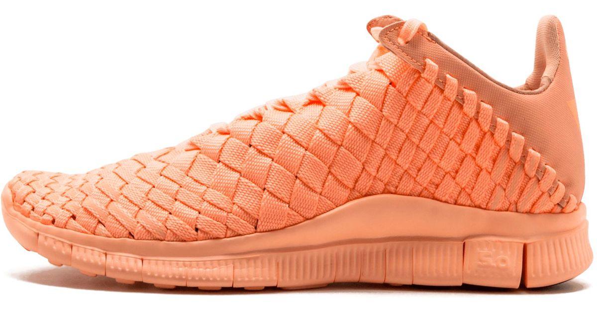 purchase cheap 79fe8 0df63 Nike Free Inneva Woven Tech Sp in Orange - Lyst