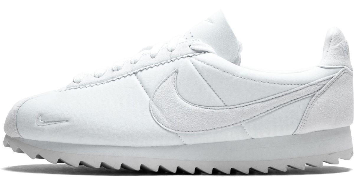 info for 01faa 894be Lyst - Nike Classic Cortez Shark Low Sp in White