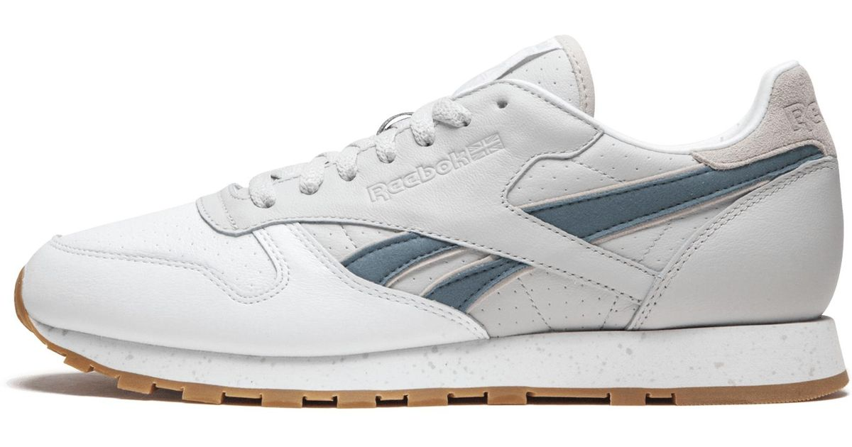 5b7e114b44d Lyst - Reebok Cl Leather Exb in White for Men