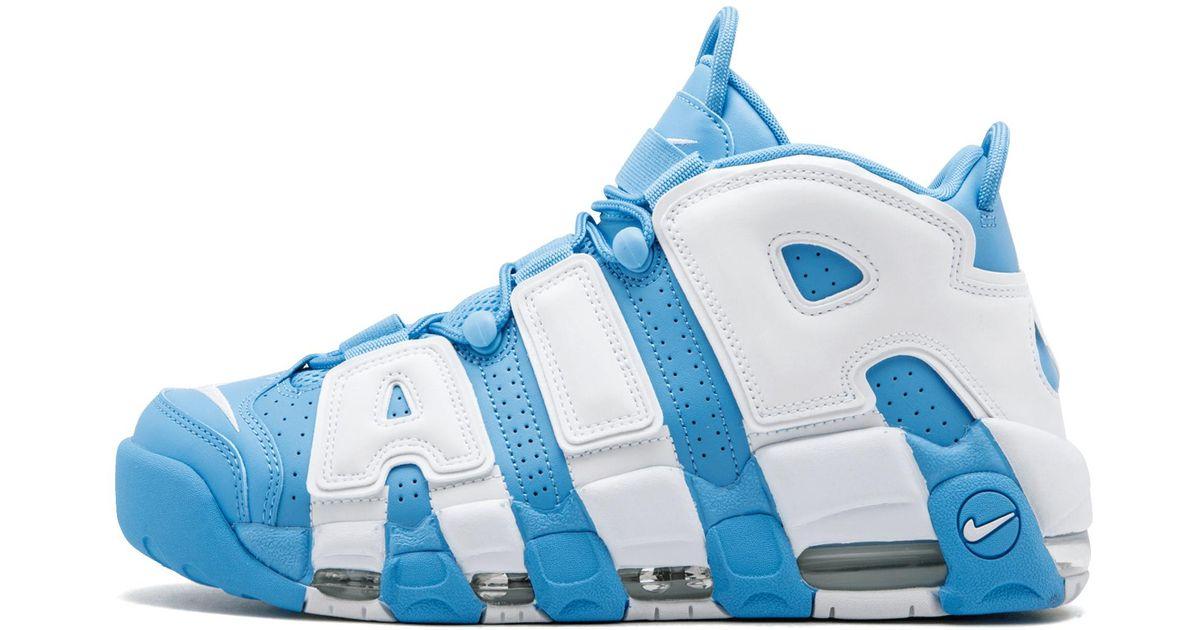 Lyst - Nike Air More Uptempo  96 in Blue for Men 851de3e73