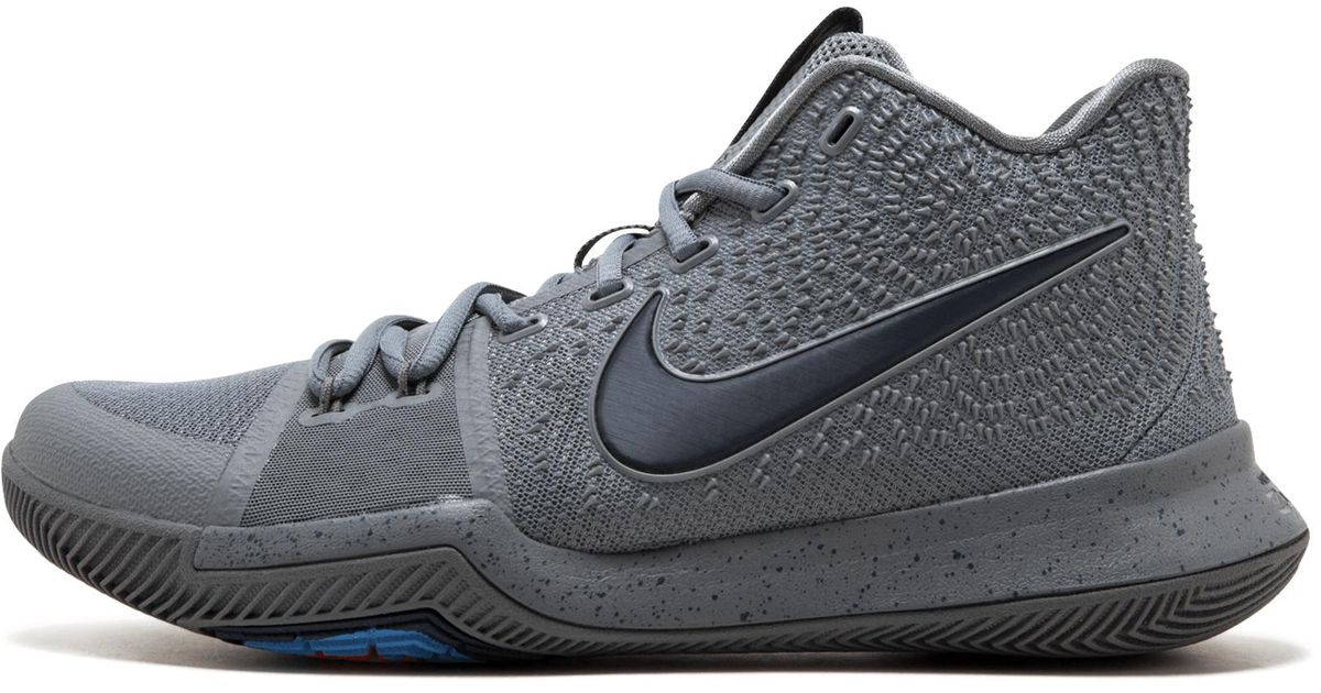 6b763d86dba Nike Kyrie 3 in Gray for Men - Save 2% - Lyst