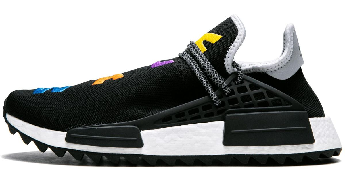 c3262ca8a adidas Pharrell Williams Hu Nmd Tr in Black for Men - Lyst