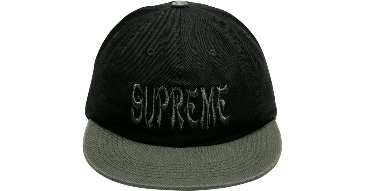 95bf88ad17b Lyst - Supreme Shaolin 6-panel in Black for Men
