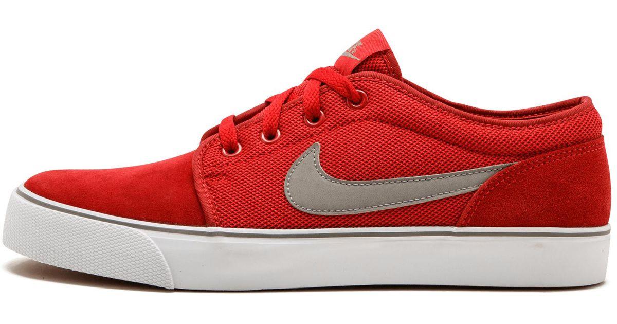 0d3d4e2a44da Lyst - Nike Toki Low Txt in Red for Men