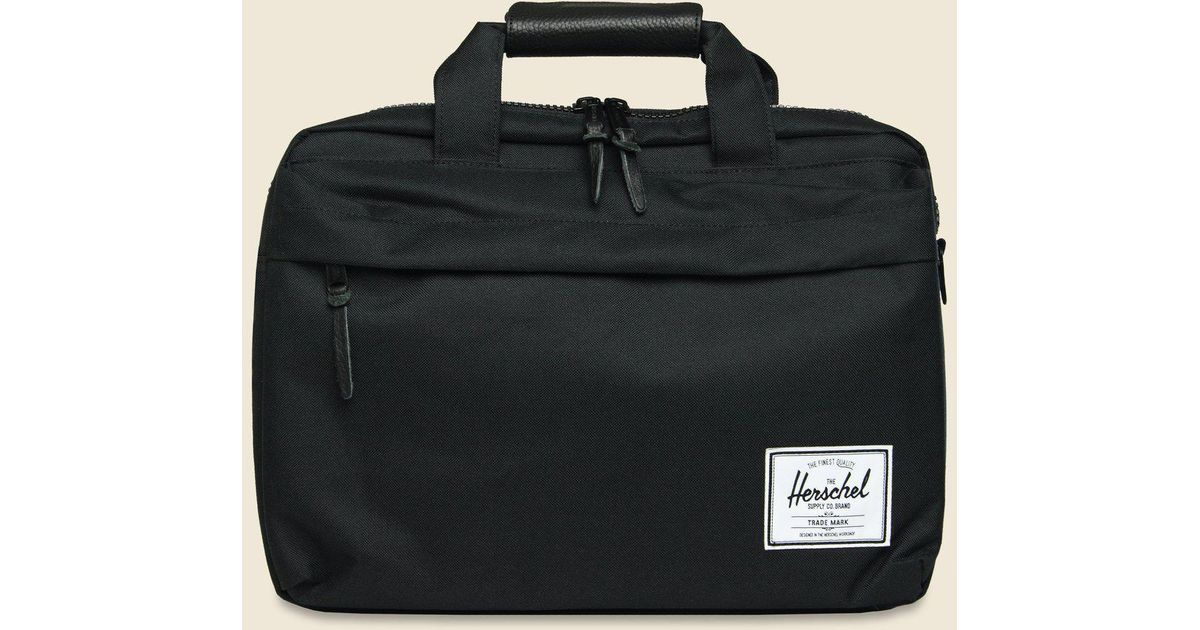 Lyst - Herschel Supply Co. Clark Messenger - Black in Black for Men 1bdc16fd3d762