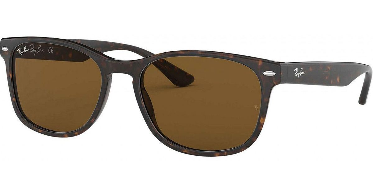 67876f3dea Lyst - Ray-Ban Tortoise Rb2184 Acetate Sunglasses in Brown for Men
