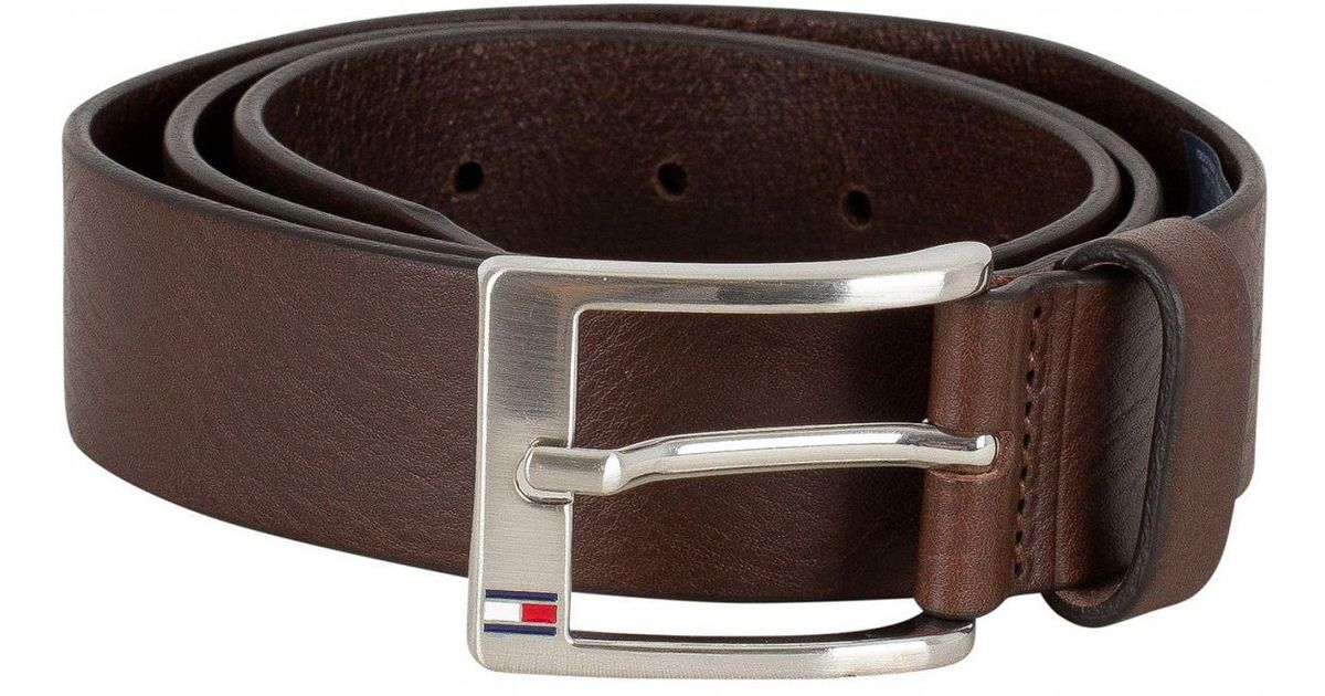 Tommy Hilfiger Testa Di Moro New Aly Belt in Brown for Men - Lyst f8ce6600be