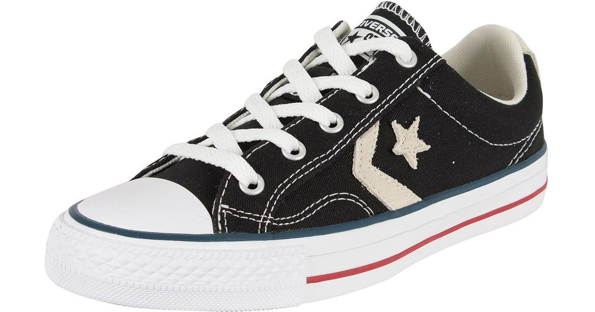 c6811f548d8 Lyst - Converse Black milk Star Player Ox Trainers in Black for Men