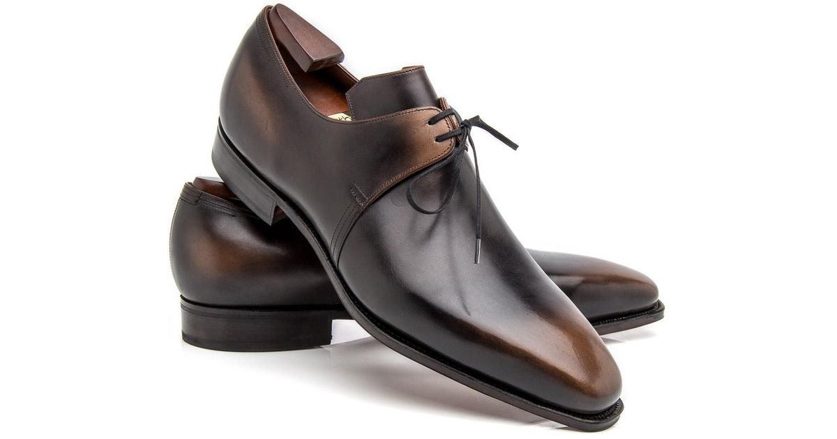 CORTHAY Arca Pullman Lace-Up Leather Derby Shoes RbGSa8h7GW