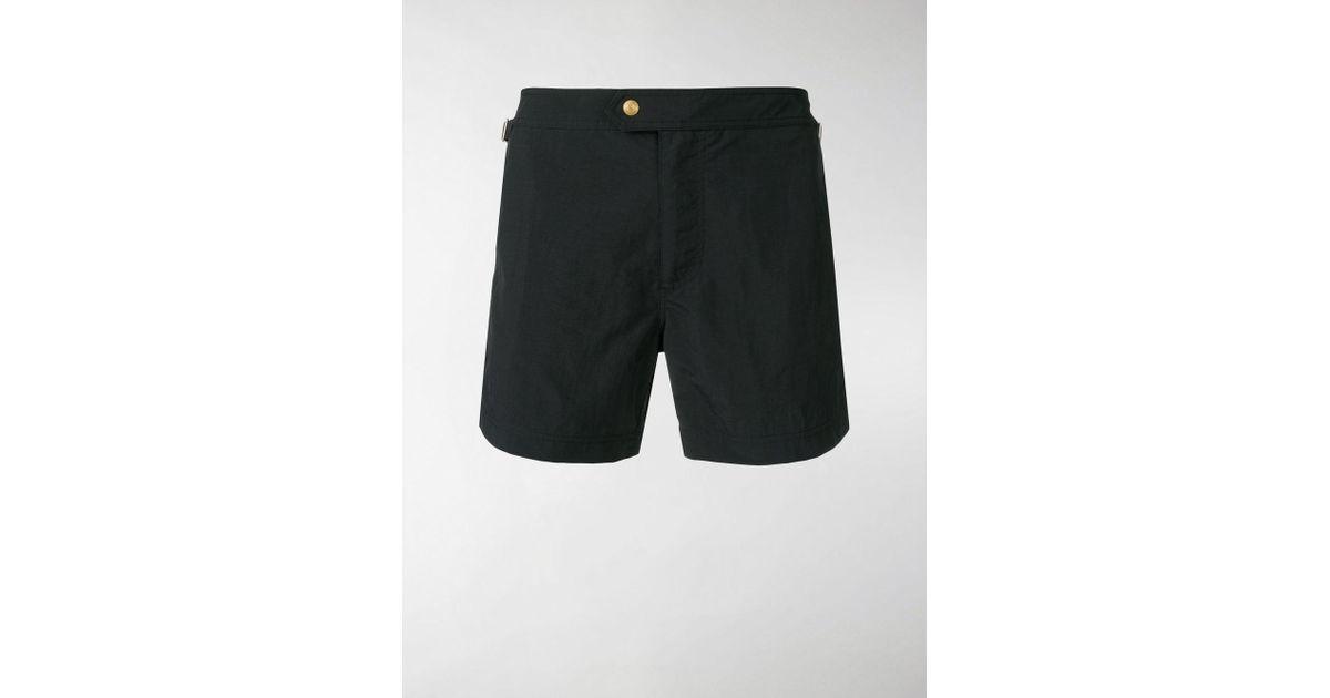 1f5cb43f6a Tom Ford Classic Swim Shorts in Black for Men - Lyst