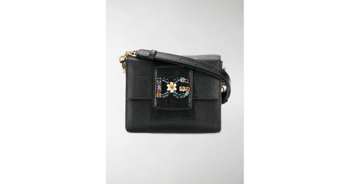 30e38804c382 Lyst - Dolce   Gabbana Borsa Dg Millennials in Black