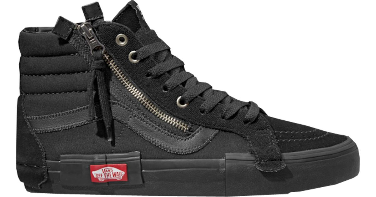 3993905708a0e Vans Sk8-hi Cap Triple Black in Black for Men - Lyst