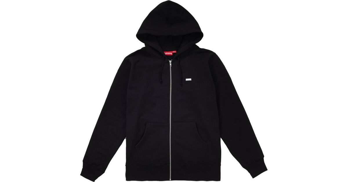 3f64c1f8df1d Lyst - Supreme Reflective Small Box Zip Up Sw in Black for Men - Save 28%