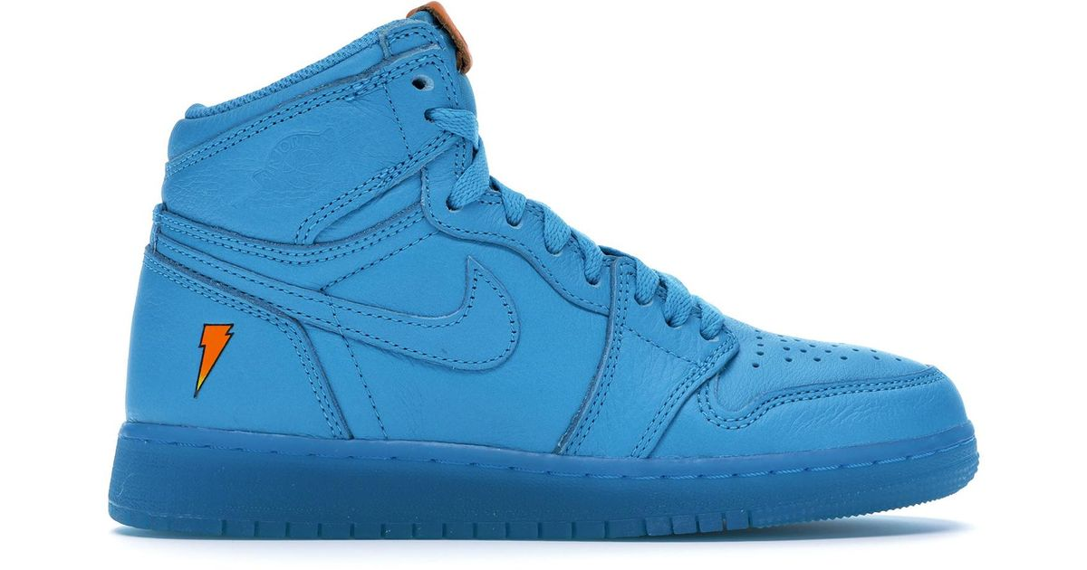 7f7849c98 Lyst - Nike 1 Retro High Gatorade Blue Lagoon (gs) in Blue for Men