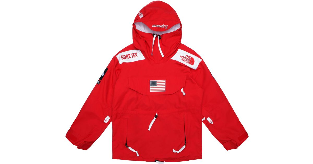b87aac37 Supreme The North Face Trans Antarctica Expedition Pullover Jacket Red in  Red for Men - Lyst