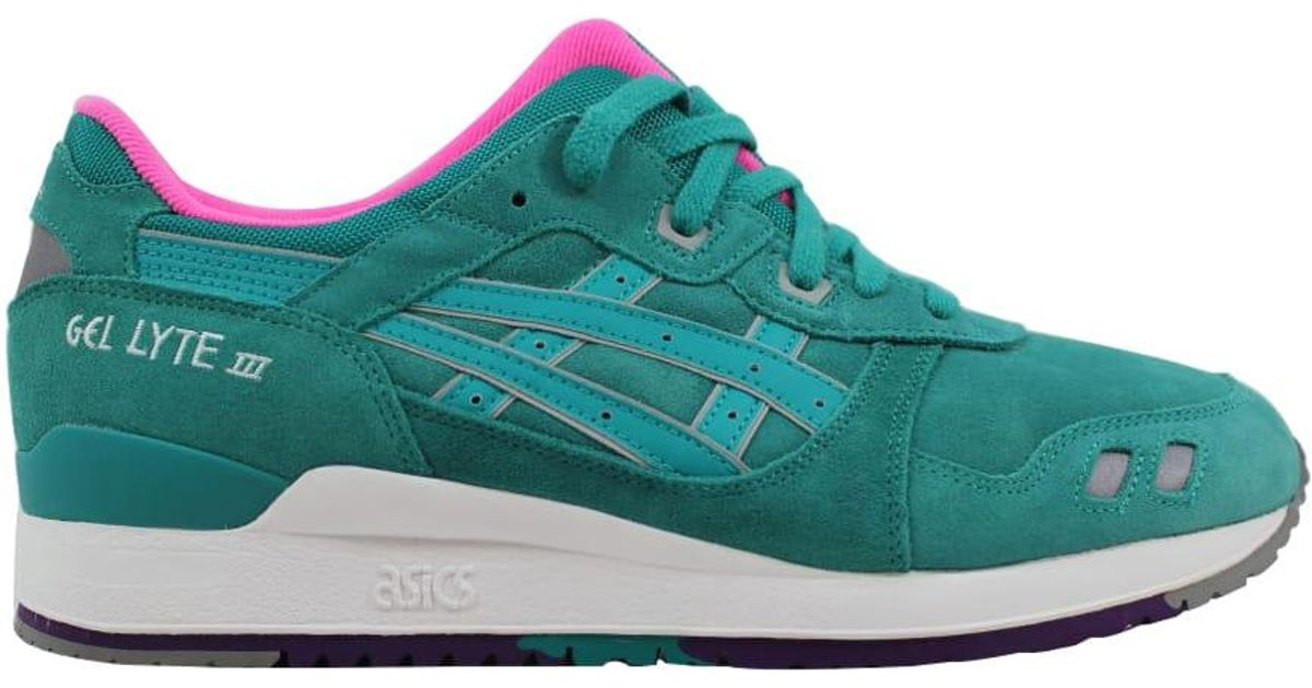 hot sale online 7061a 3eac9 Asics - Gel Lyte Iii 3 Tropical Green/tropical Green for Men - Lyst