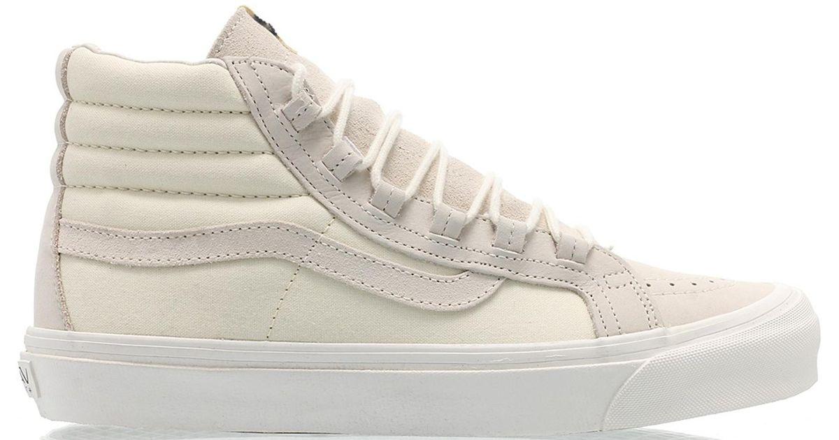 603da2503c8 Lyst - Vans Sk8-hi Taka Hayashi Marshmallow in White for Men