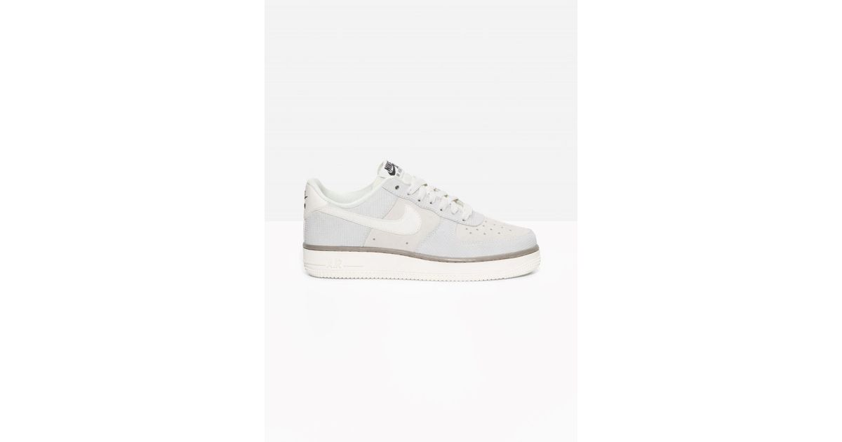 free shipping 27e3c d59a3 ... hot other stories nike air force 1 suede in gray lyst 78da3 d5794