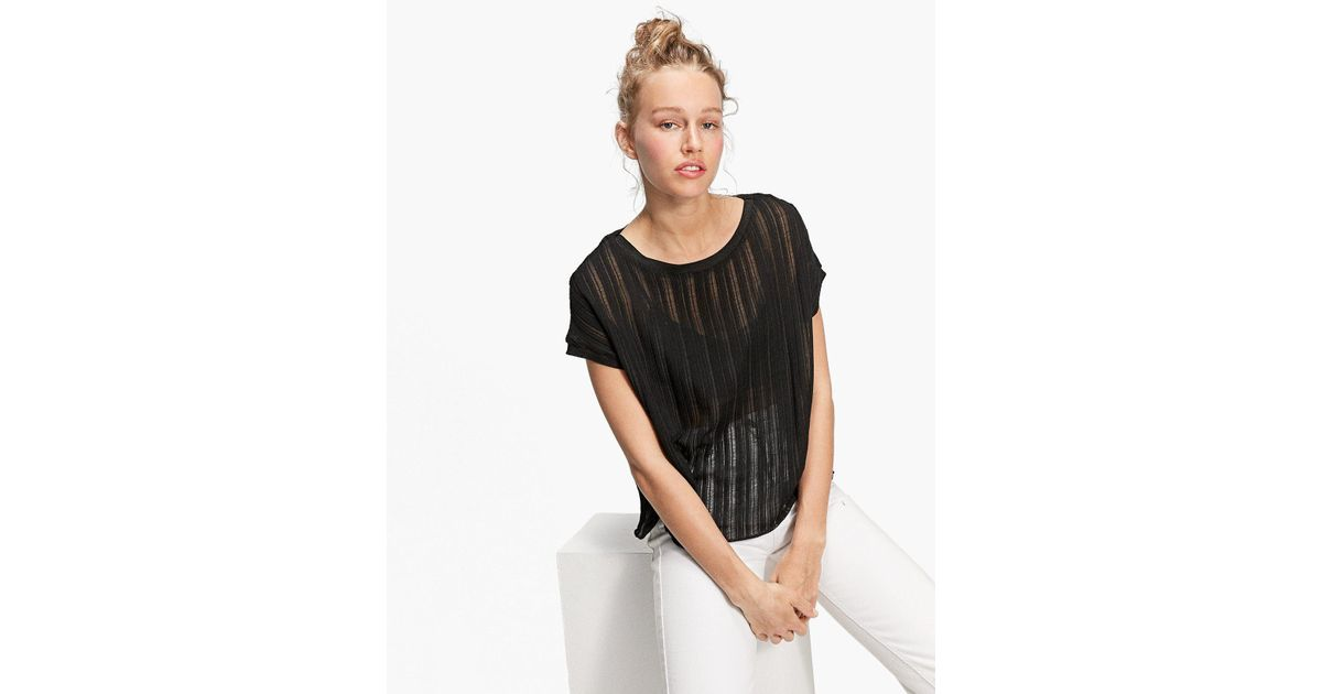 Buy Cheap 2018 New Stradivarius Rustic T-shirt 2018 Newest Sale Online Cheap Sale Factory Outlet O0N8QmbmWO