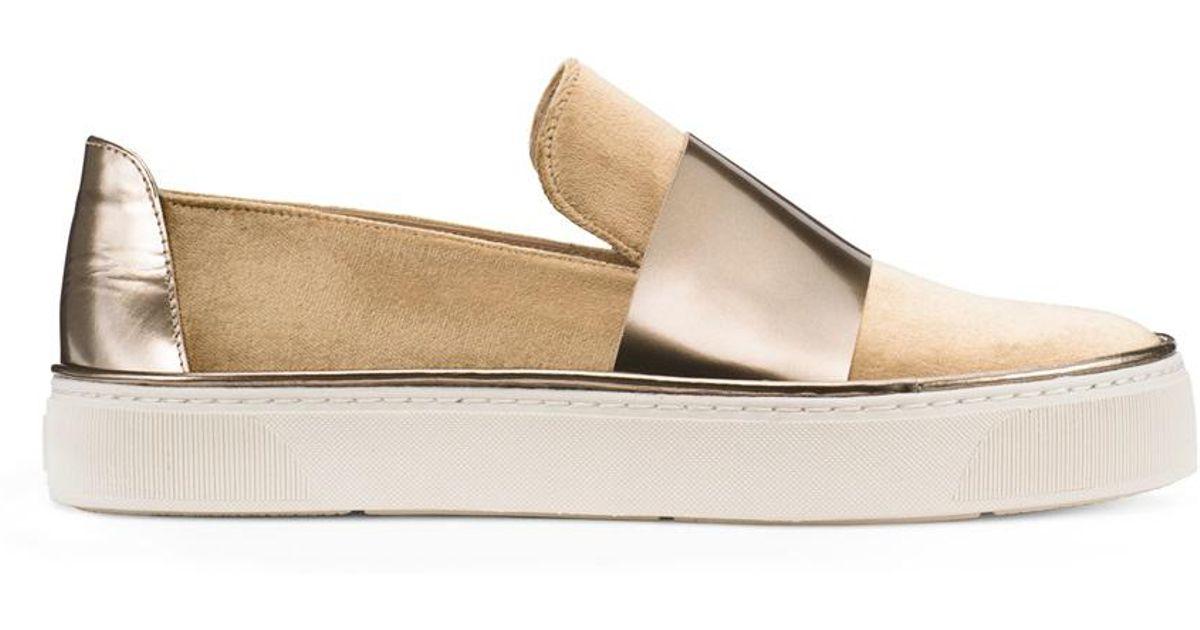 001364206a9 Lyst - Stuart Weitzman The Boyband Sneaker in Metallic - Save 18%