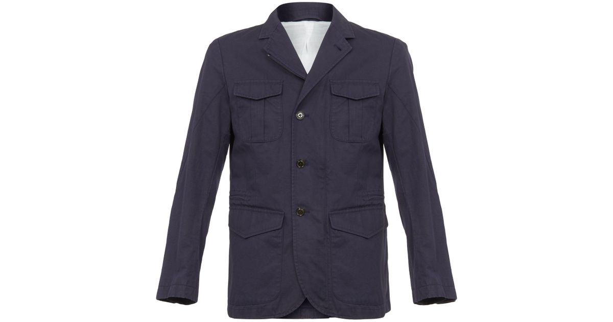 Hackett cord jacket