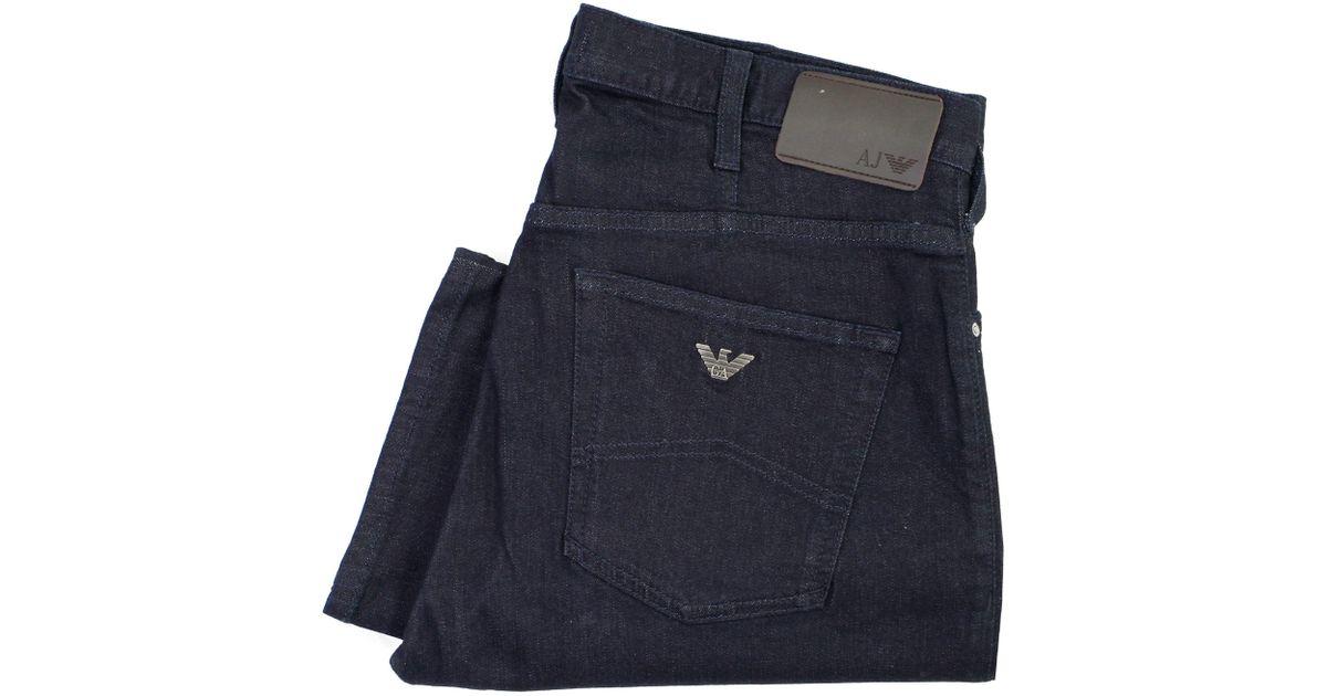 608e25873451 Lyst - Armani Jeans J21 Dark Denim 8n6j21 6dlpz in Blue for Men
