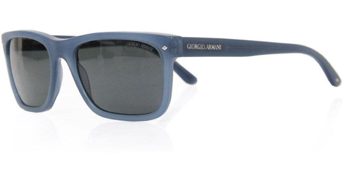 83dbe8e13a0 Lyst - Giorgio Armani Giorgio Armani Ar 8028 Blue Sunglasses in Blue for Men