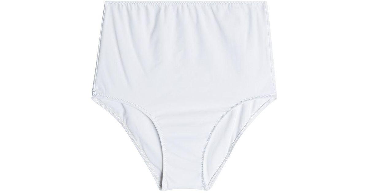 1519e4337e Araks - White Mallory Hipster High-waist Bikini Bottoms - Lyst