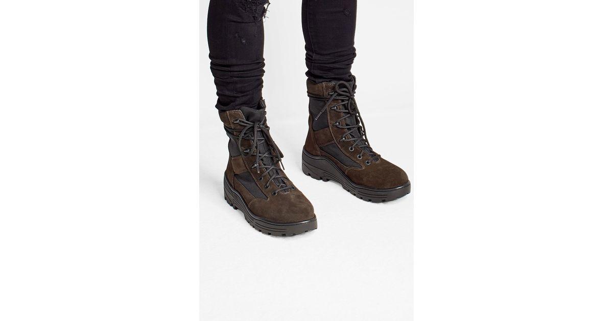 a5e29e85c63 Lyst - Yeezy Suede Combat Boots for Men