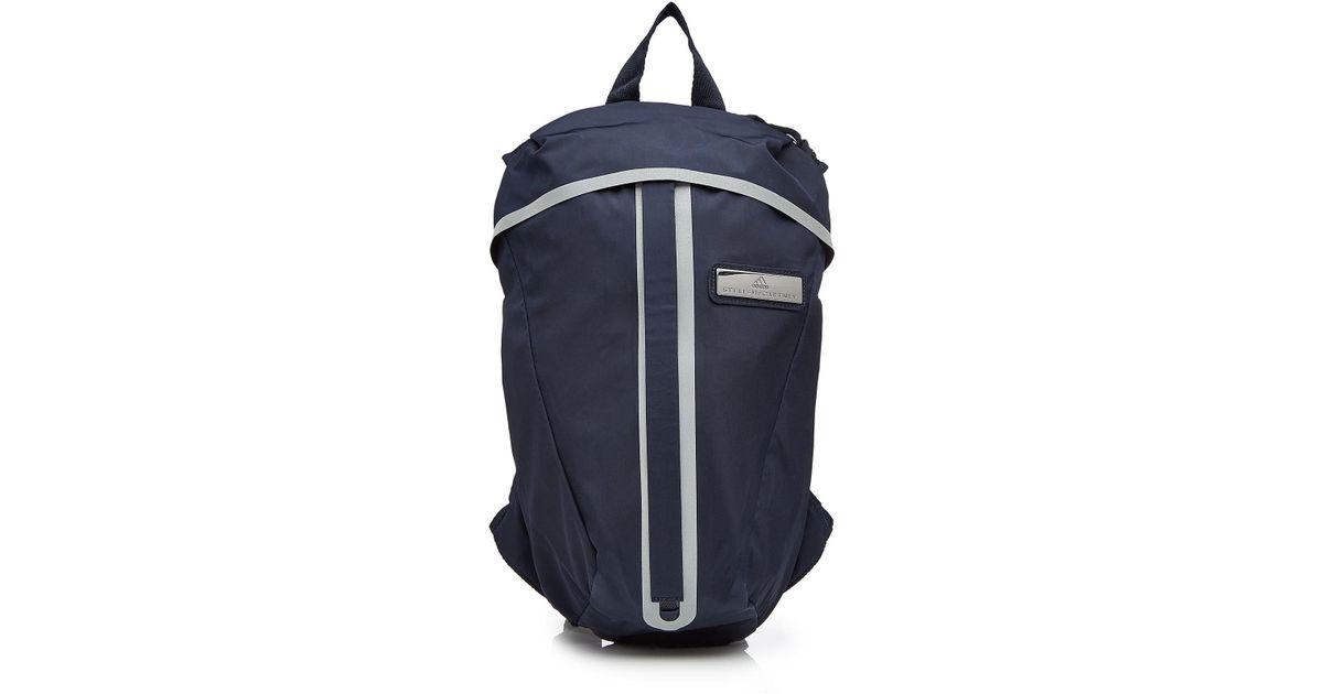 1cad27c25c36 Adidas By Stella Mccartney Run Adizero Fabric Backpack in Blue for Men -  Lyst