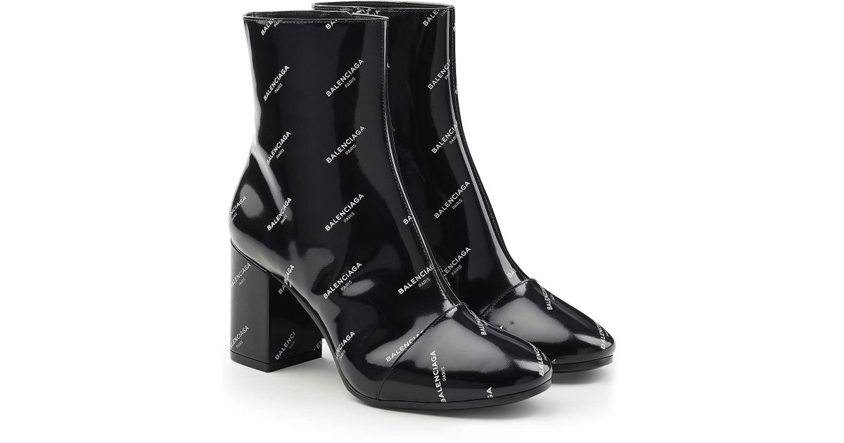 Balenciaga Patent Leather Lace Ups WH0oRDv4RI