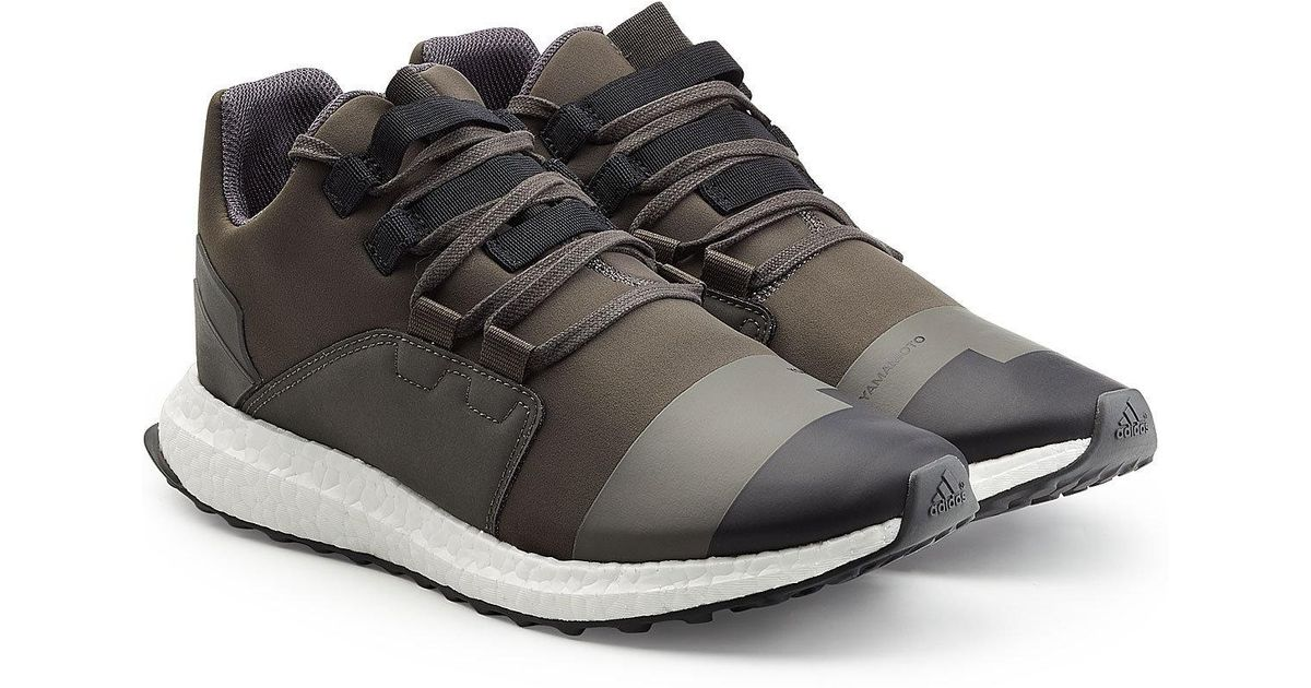 d1d779659 Lyst - Y-3 Black olive Kozoko Low Trainers in Black for Men - Save 66%