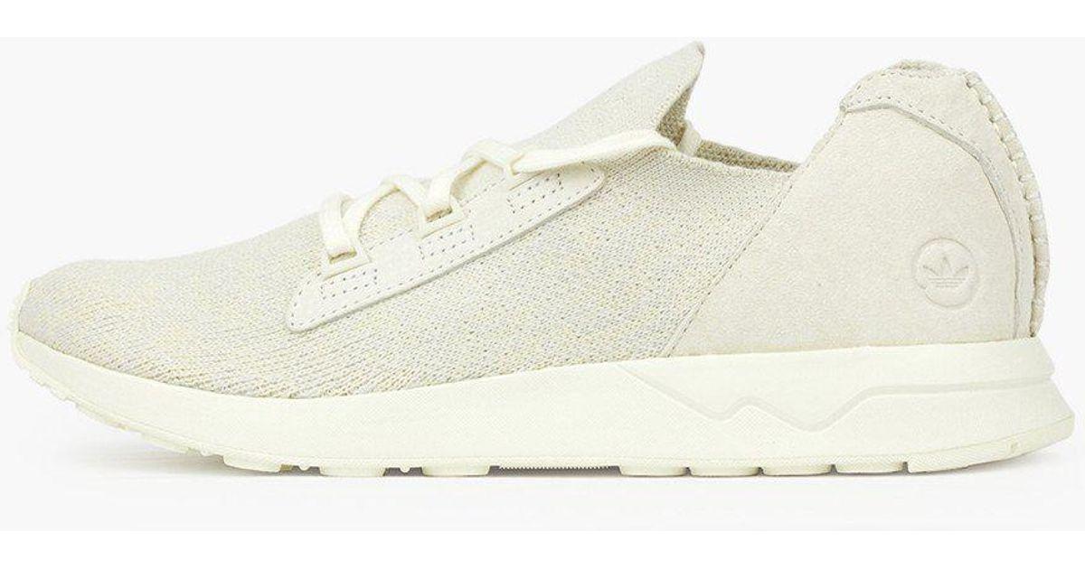 4bc833018 adidas Originals Adidas Wh Zx Flux X Pk in White - Lyst