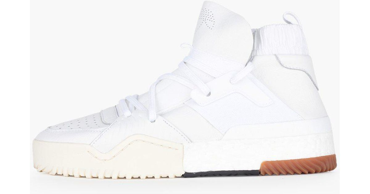 35faa2c143711 Lyst - adidas Originals Adidas Originals By Alexander Wang Aw Bball Mid  Boost in White for Men