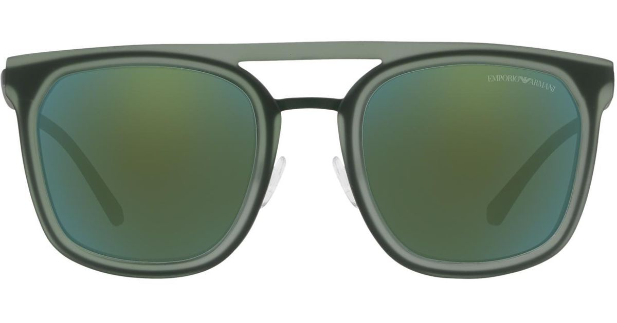 80c8b2c6b741 Lyst - Emporio Armani Sunglasses