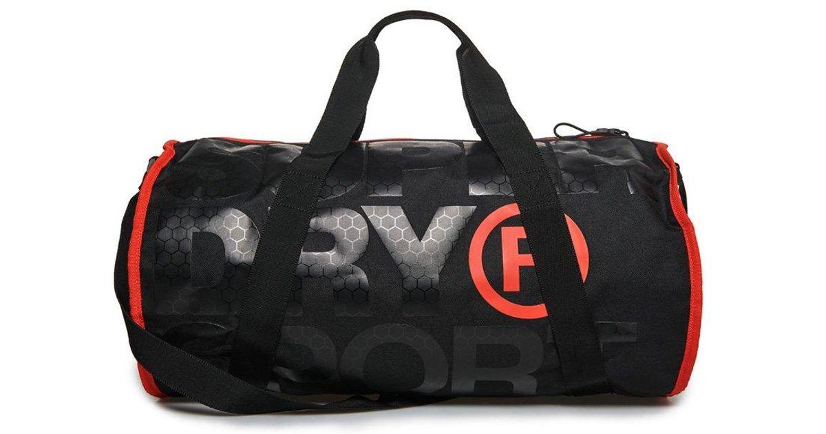 Superdry Xl Sports Barrel Bag in Black for Men - Lyst f49adfca46
