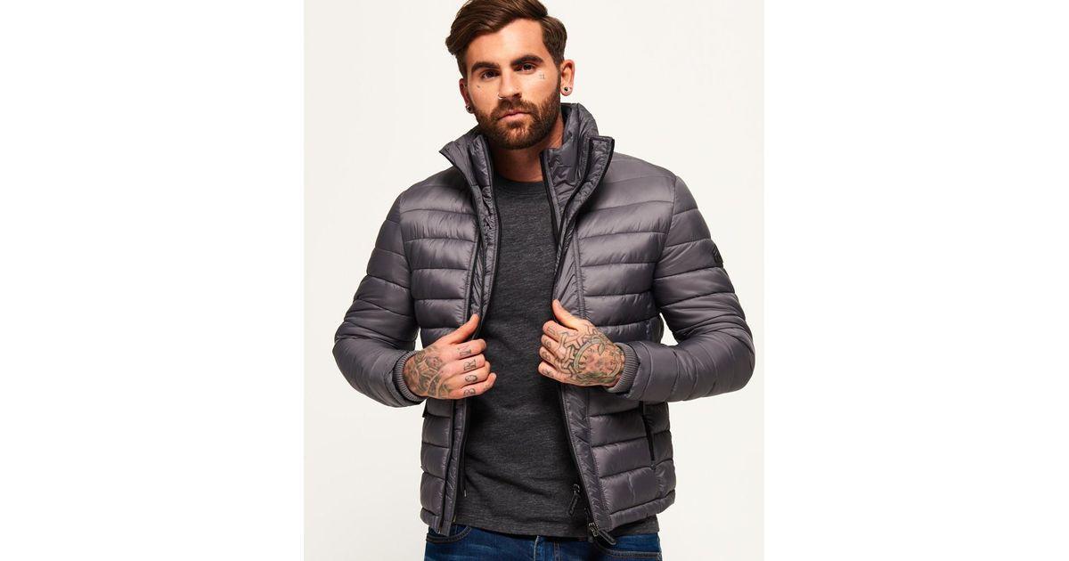 Men X Triple Sd Lyst Superdry For In Zip Jacket Gray Fuji qvAqwZ